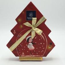 Geschenkdoos Kerstboom  11 pralines traditioneel