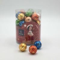 Plexitube Kerst Large 44 pralinebollen +/- 525g