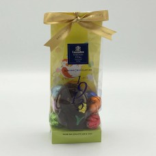 Pasen P1: Angie Fondant Chocolade 40g en 9 eitjes