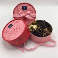 Leonidas Dora Doos Roze met Kruis 450g Premium Pralines